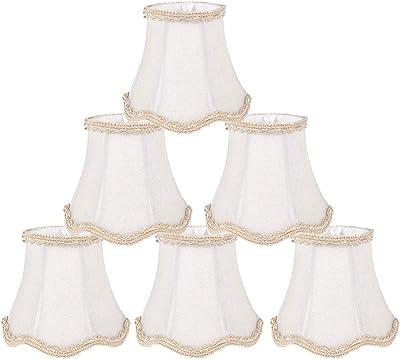 Clip en Lampshades 4 piezas Set, Pequeño cortinas de la lámpara ...