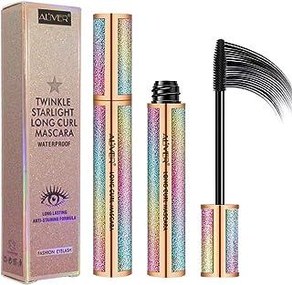 4D Eyelash Mascara,Waterproof Mascara, Thicker, Voluminous Eyelashes, Long-Lasting,Smudge-proof Long Lash Mascara Natural ...