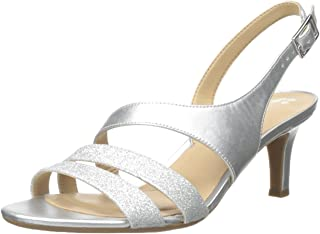 737e2e9f904 Amazon.com  Silver Women s Wedge   Platform Sandals
