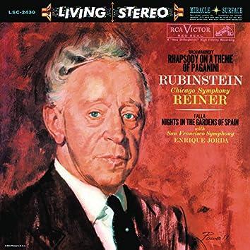 Rachmaninoff: Rhapsody on a Theme of Paganini, Op. 43 - de Falla: Nights in the Gardens of Spain