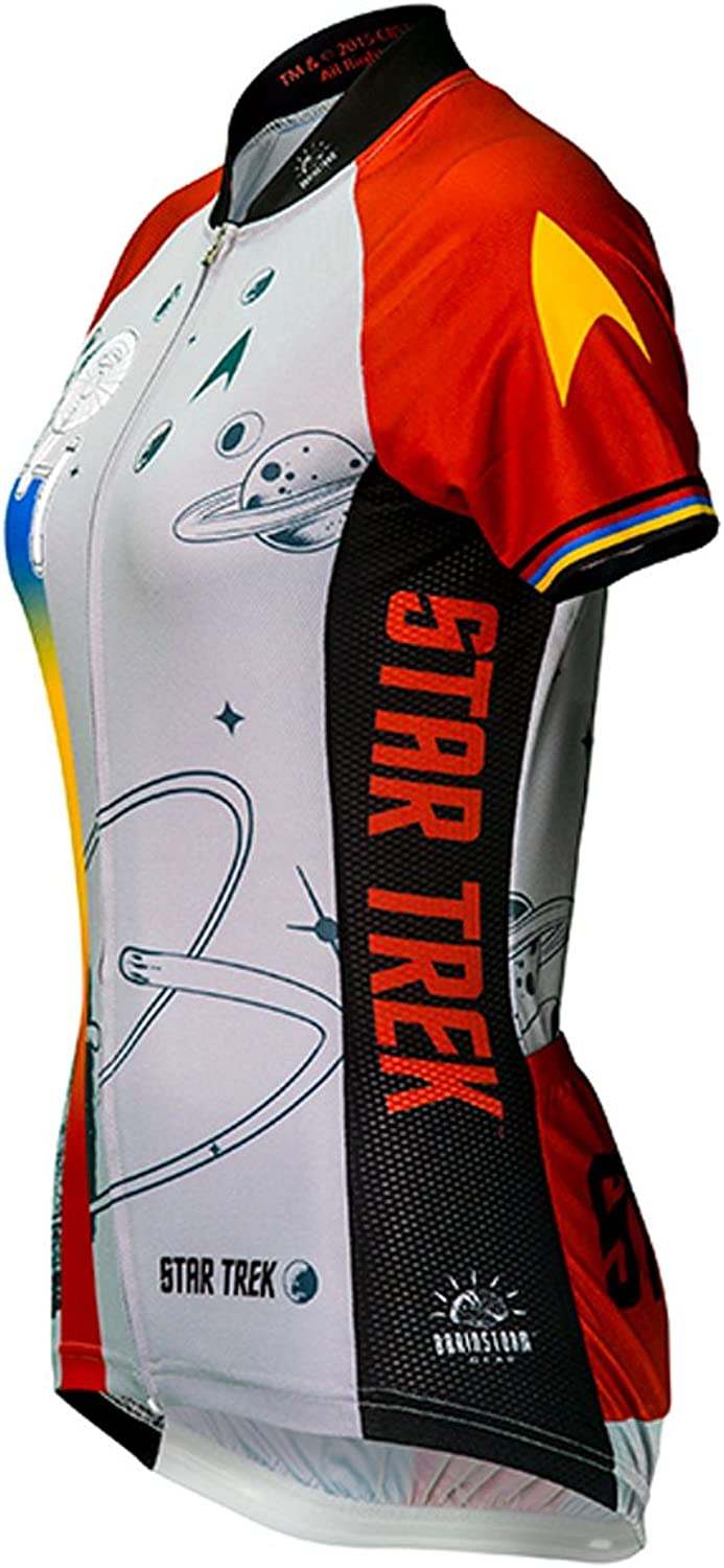 Brainstorm Gear Women's Star Trek Final Frontier Cycling Jersey  STF