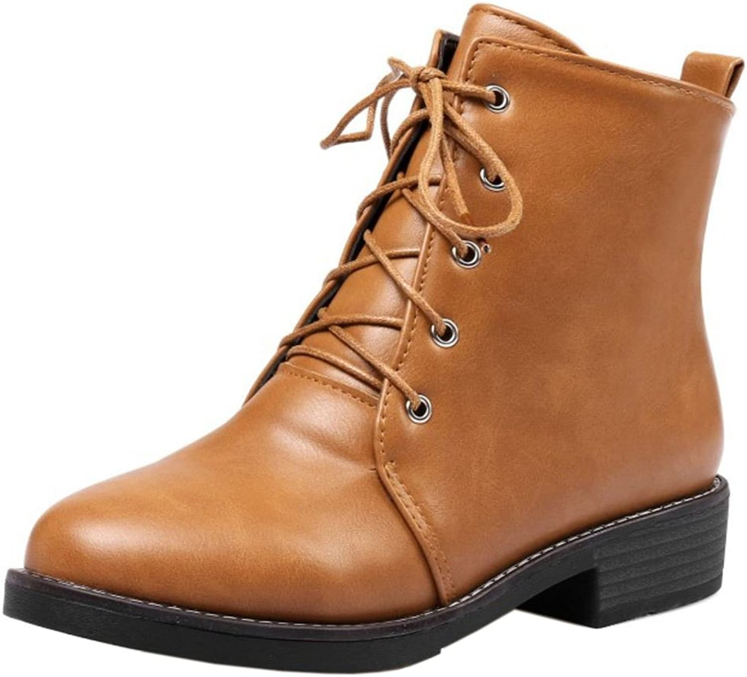Cular Acci Women Martin Boots Lace Up