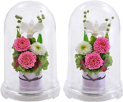 アートフォーシーズン ● お供え花 対デザインSET ピンク プリザーブドフラワー