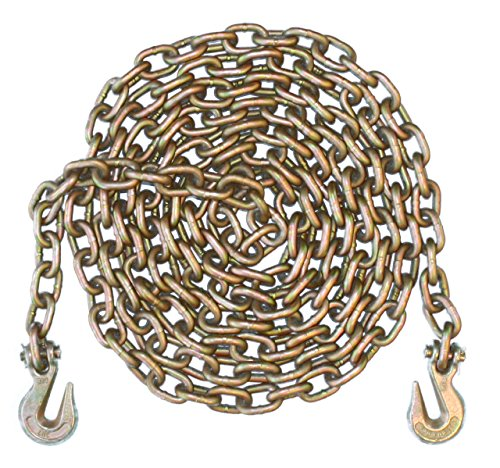 1/2' - Grade 70 Binder Chain - Grab Hooks - 10' Length
