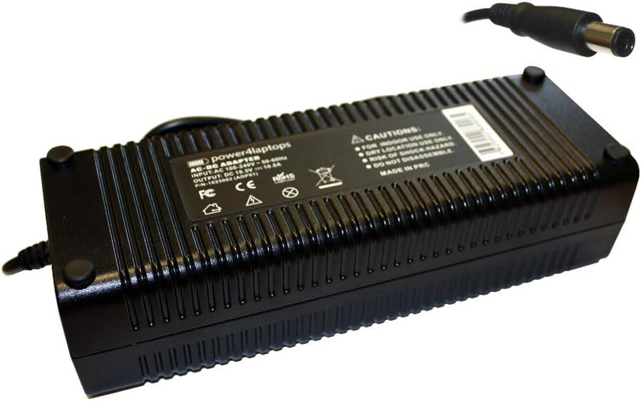 Power4Laptops Adaptador Fuente de alimentación portátil Cargador Compatible con MSI Gaming GE73 7RD Raider