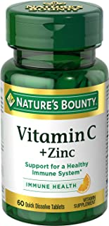 acne zinc supplement by Nature's Bounty