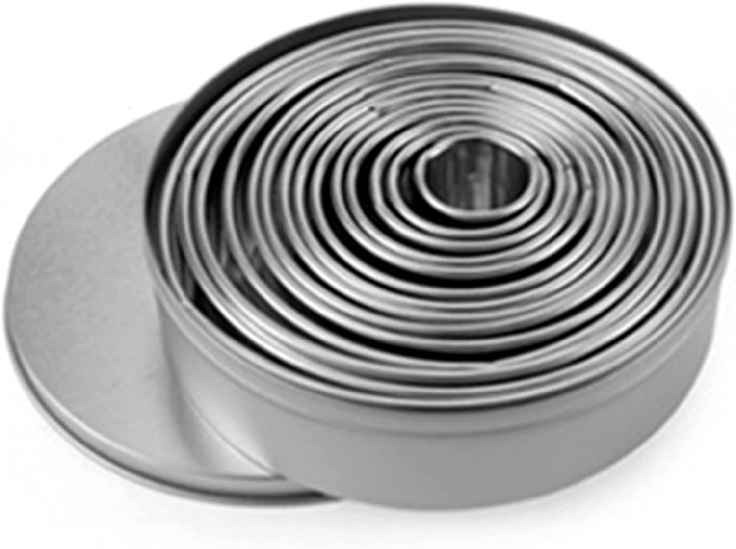 xingkong Cookie Biscuit Cutter Attention Over item handling ☆ brand Set Circle Stainless Steel Doughn