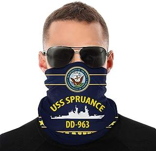 Nother USS Spruance Dd963 Anime män utomhus multifunktionell variation huvudscarf vindtät ansiktsmask