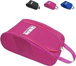 Portable Oxford Travel Shoe Tote Bag, Waterproof Shoe Packing Storage Gym Organizer