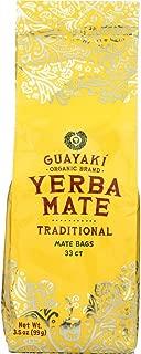 Guayaki, Mate Traditional Bag Organic, 33 Count