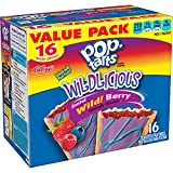 Kellogg's Pop-Tarts Breakfast Toaster Pastries, Wildlicious Frosted Wild Berry Flavored, Value Pack, 30.4 oz 16 Ct. (Pack Of 2)