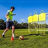 FORZA Mannequins de Coup Franc pour l'Entraînement de Football | Base en Option pour Gazon Synthétique (Choix de Tailles) (Mannequin de Coup Franc, Junior - Lot de 1)