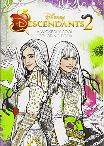 DESCENDANTS 2 A WICKEDLY COOL COLORING B (Art of Coloring)