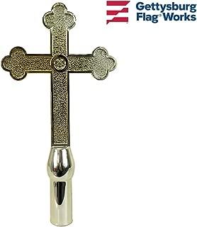 cross flag pole topper