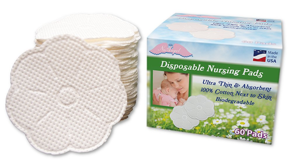 NuAngel We OFFer at cheap Max 44% OFF prices Biodegradable Disposable Pads Nursing