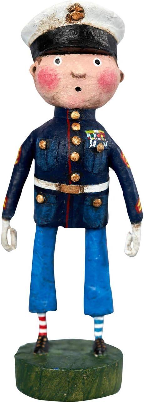 Kinks 完全送料無料 Quirks Lil' 2020 Marine Figurine Lori Mitchell