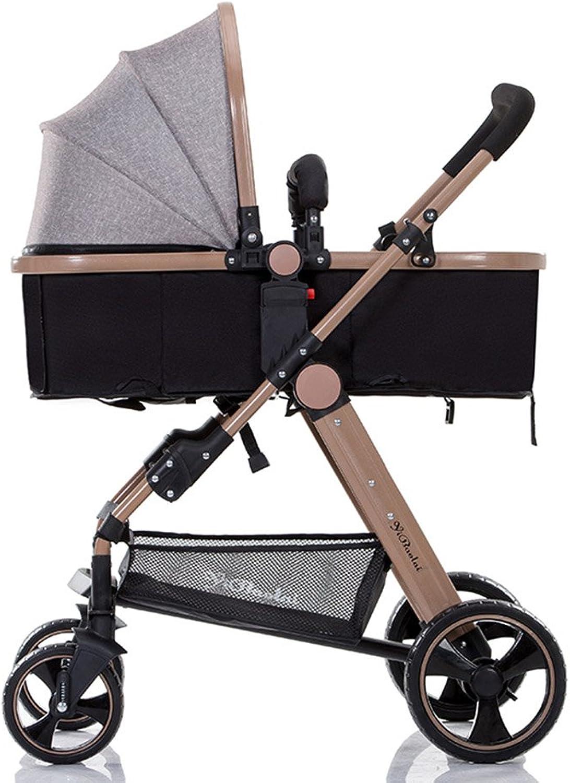 gran descuento XUERUI Cocherito De Bebé Bebé Bebé Cocherito Plegable Cómodo Comodidad Conveniente Seguridad (Color   gris)  venta