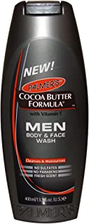 Palmer's Palmers Cocoa Butter Formula Body & Face Wash for Men 13.5 Ounce