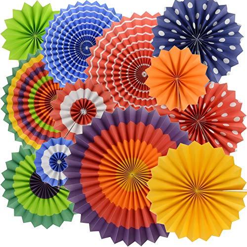 BeiLan 12pcs Colorful Fiesta Tis...