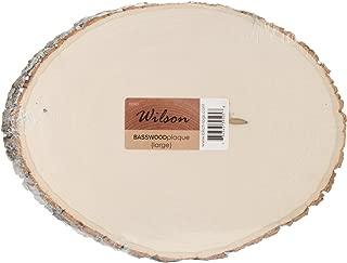 Wilson Basswood Round/Oval (Large (9