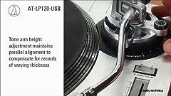 Amazon.com: Audio-Technica AT-LP120-USB Direct-Drive ...