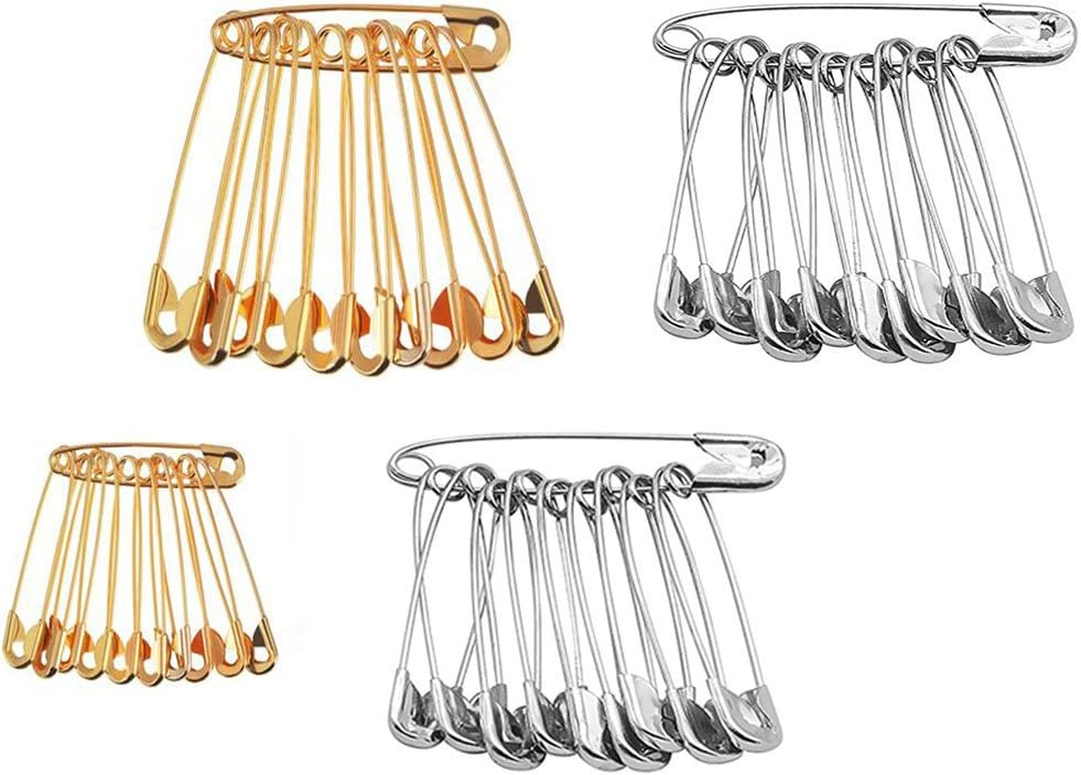 Don't miss the campaign Saree Pin Set Pack of 60 Rep Clearance SALE! Limited time! Safety for Pins Garment