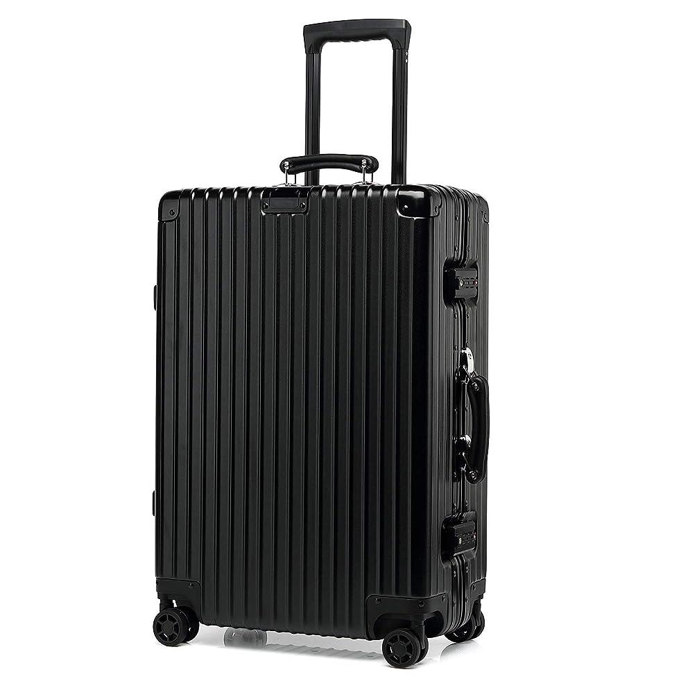 kroeus(クロース)スーツケース キャリーケース ABS+PCボディ 革製ハンドル 復古主義 エンボス加工 TSAロック搭載 海外旅行 出張 Sサイズ機内持ち込可 1年間保証付き