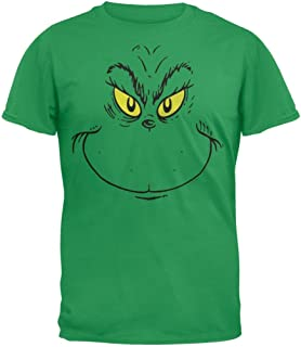 Dr. Seuss - Grinch Face T-Shirt