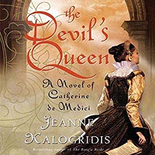 The Devil's Queen audiobook cover art