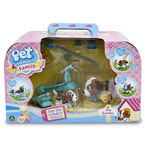 Pet Parade - Ptf01 - Coffret Pet - 2 Scooters/2 Casques/chien/bébé/accessoires
