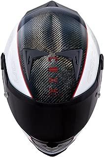 Nexx XR2 Carbon Full Face Helmet (Large, White/Red)