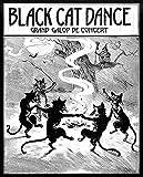 Placa de metal de estaño cartel de metal retro es fácilmente distraído por los gatos negros, decoración de la pared del café, cartel de metal retro de la lata de la marca 20 x 30 cm