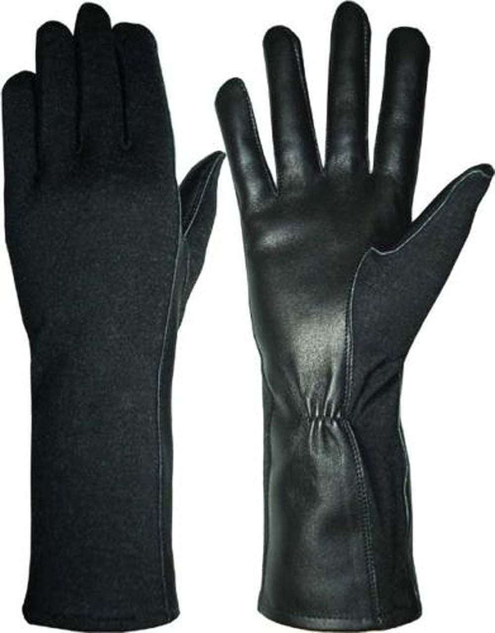 US Army Nomex Pilot/'s Gloves Olive Size 10//L Pilot Flight Gloves Heat Resistant