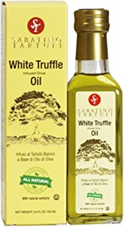 Sabatino Tartufi Infused Olive Oil, White Truffle, 3.4 oz