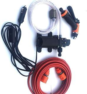 12V Portable Electric Car Wash Simple Car Connection Integrate'd' Car Wash Water Pump Set SaudiLove