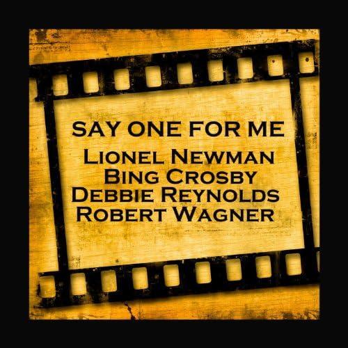 Lionel Newman, Bing Crosby, Debbie Reynolds & Robert Wagner