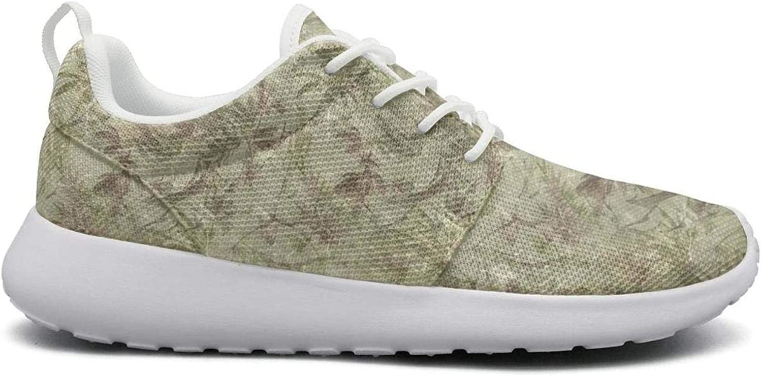 Wuixkas Camo Camouflage Leaves Collage Womens Lightweight Mesh Sneakers Funny Running shoes