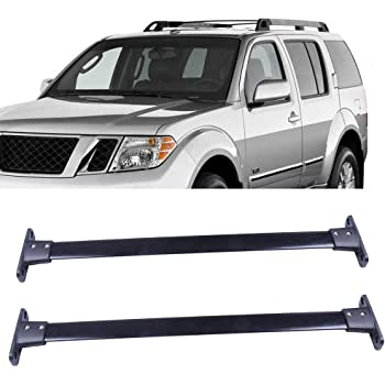 Amazon Com Pair Oe Style Aluminum Roof Rack Top Cross Bar Replacement For Nissan Pathfinder 05 12 Automotive