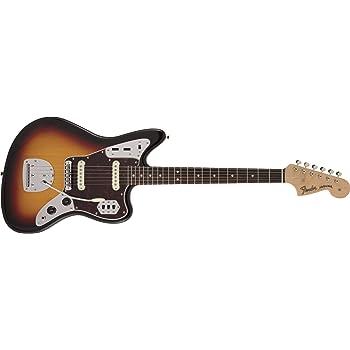 Fender エレキギター Made in Japan Traditional 60s Jaguar®, Rosewood Fingerboard, 3-Color Sunburst