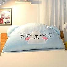 Super Cute Children's Bed Head Cushion Pillow Bed Back Cushion Princess Pillow Big Back Comfortable Breathable yangain (Co...