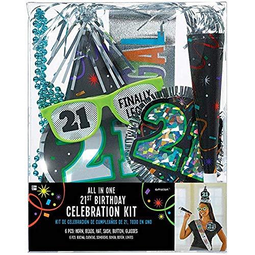 """21st """"Happy Birthday"""" Party Kit"""
