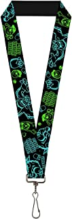 Buckle Down Lanyard-1.0-Monsters Sully & Mike Poses/grrrrr Bla