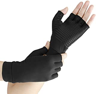 Arthritis Gloves - Guaranteed Highest Copper Content. Best Copper Glove for Carpal Tunnel, Computer Typing, and Everyday S...