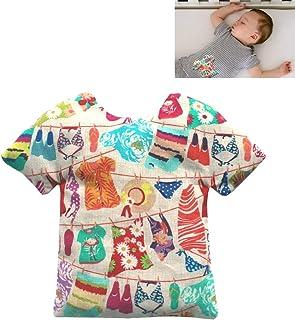 """Sacca termica per alleviare le coliche nei neonati """"T-shirt"""" - contiene 125 g di noccioli di ciliegia - Per alleviare coli..."""