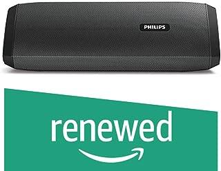 (Renewed) Philips BT120 Bluetooth Speakers (Black)