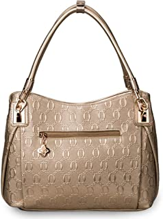 Outdoor Travel Business Leather Handbag/Fashion Lady Handbag/Shoulder Bag. jszzz (Color : Yellow)