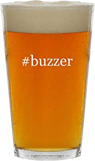 #buzzer - 16oz Hashtag Clear Glass Beer Pint Glass