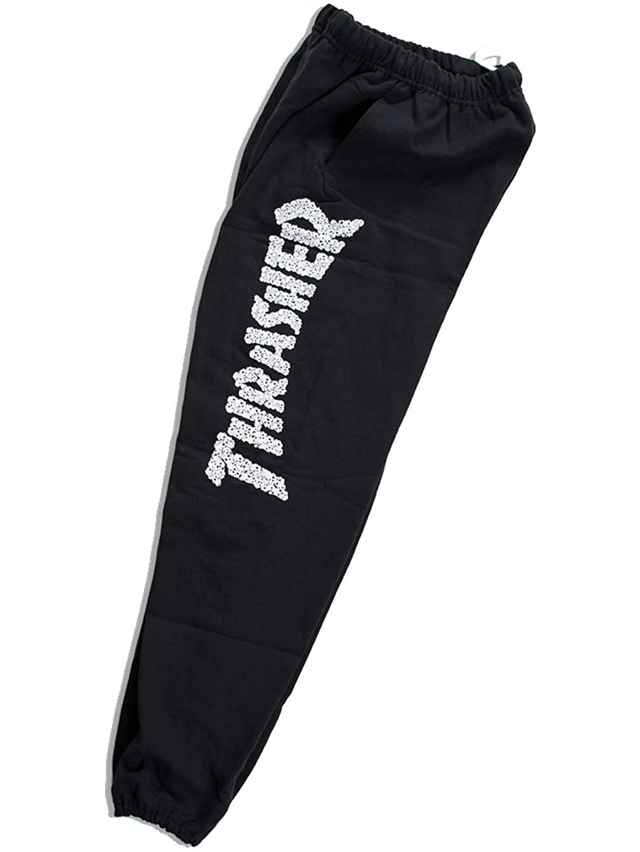 THRASHER(スラッシャー) スウェット パンツ スカル ドクロ ロゴ メンズ 133255
