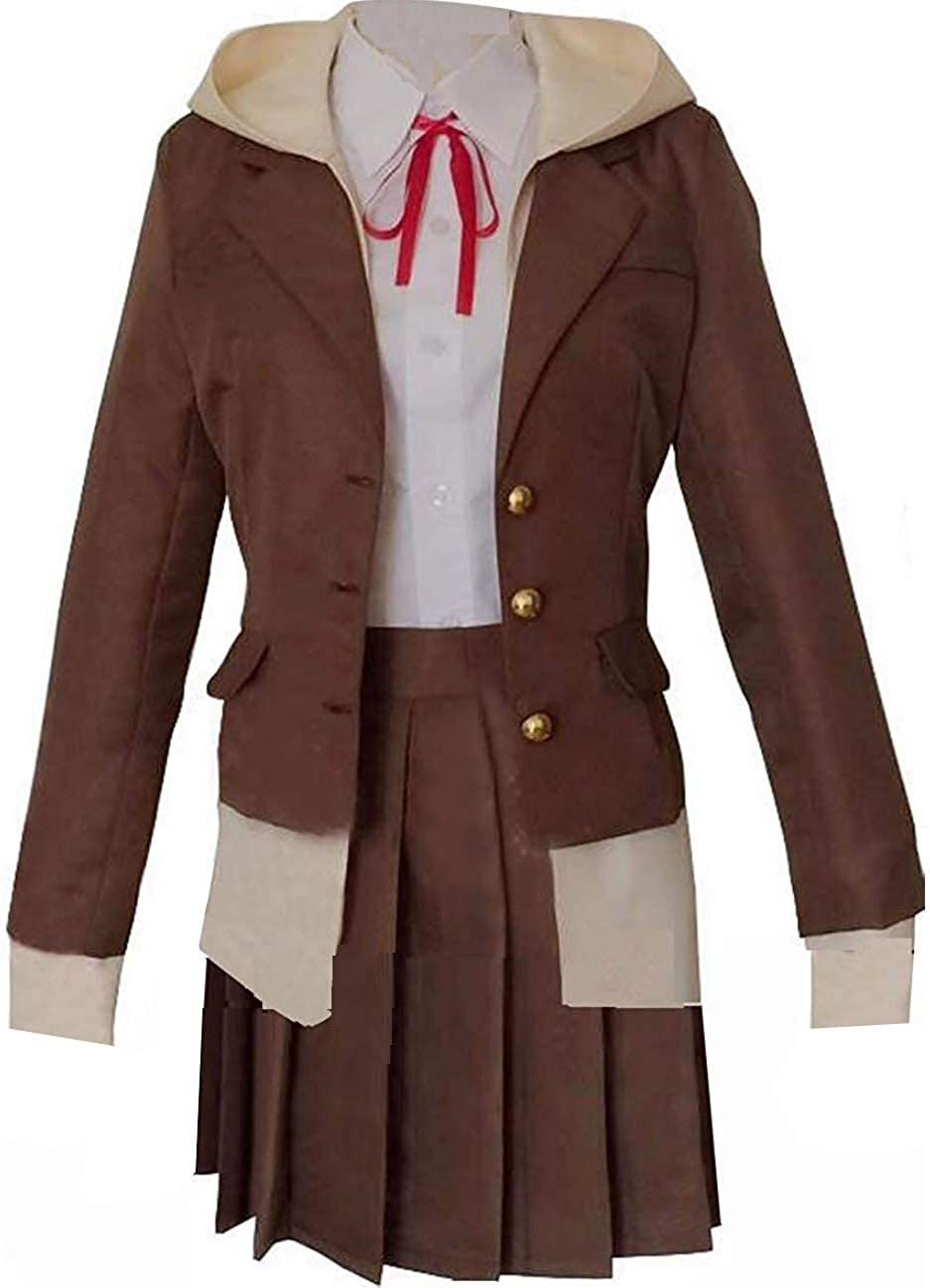 Danganronpa Nanami ChiaKi Schuluniform Cosplay Kostüm Halloween Outfit