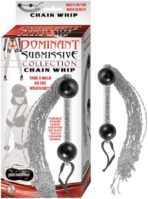 Dominant Submissive Collection Direct sale of manufacturer Weekly update Chain Whip Bottle Free of with Ad
